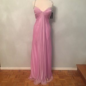 La Femme, formal evening gown, Lavander, size 12